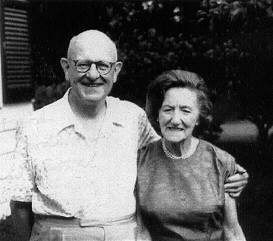 P.G.Wodehouse with his wife